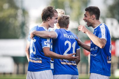 """Pelaajilla pohdittavaa kesän maali- ja juoksujuhliin, RoPSin Aleksandr Kokko: """"Juhlinta on iso osa joukkuehenkeä"""""""