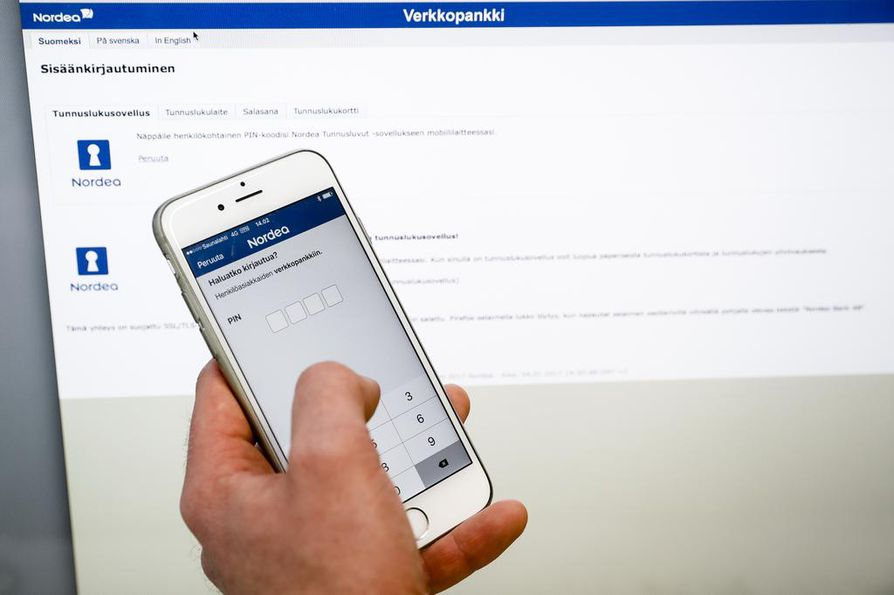 Nordean verkkopankki toimii taas normaalisti | Kotimaa | Kaleva.fi