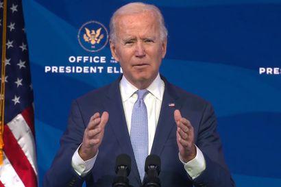 Joe Biden julkisti suunnitelman 1900 miljardin dollarin elvytyspaketista – lisää suoraa tukea kansalaisille ja rahaa pandemian torjuntaan