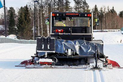 Rovaniemi hoitaa kahta hiihtoreittiä huhtikuun loppuun asti