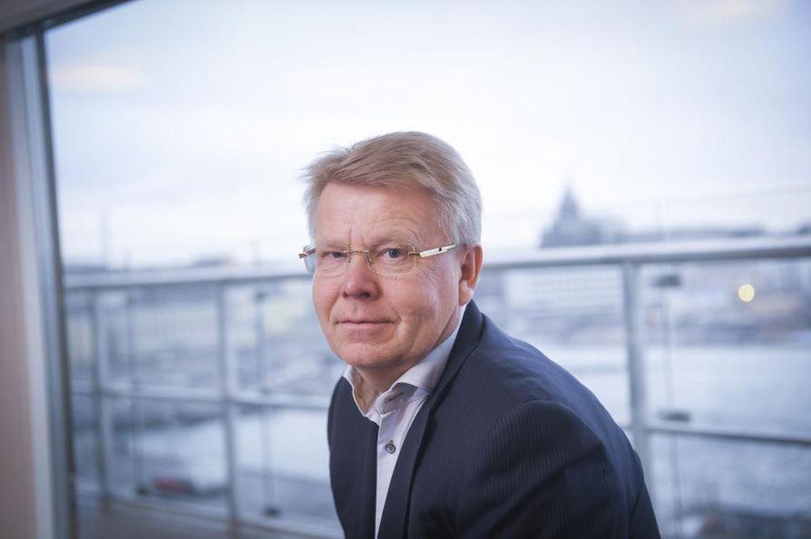 Oulussa vieraillut EK:n toimitusjohtaja Jyri Häkämies vaatii lisää insinöörikoulutusta koko maahan uhkaavan työvoimapulan takia. Arkistokuva.