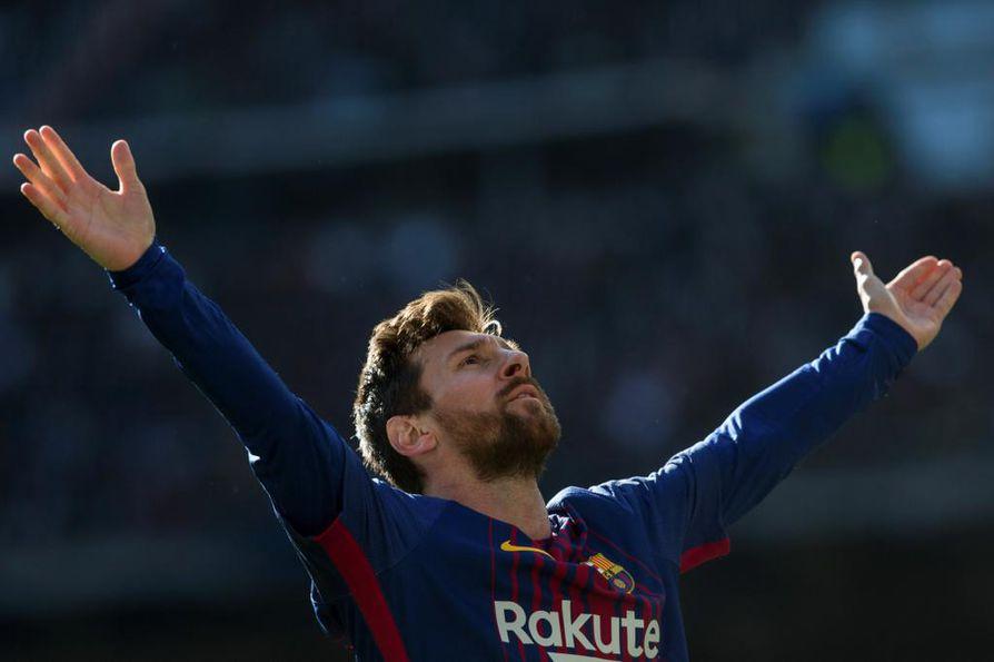 Maailman parhaaksi jalkapalloilijaksi viisi kertaa valittu Lionel Messi vieraili marraskuun lopulla Kuusamossa.