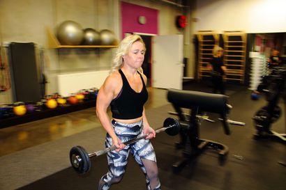 Fitness-debyytti suoraan SM-tasolla