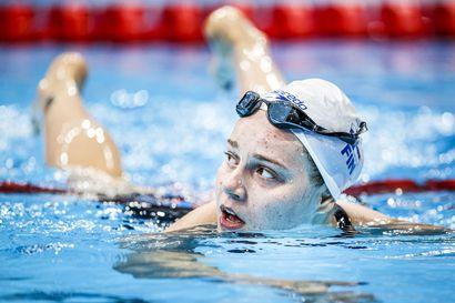 Ida Hulkko sijoittui ISL-liigassa kolmanneksi 100 metrin rintauinnissa Napolissa