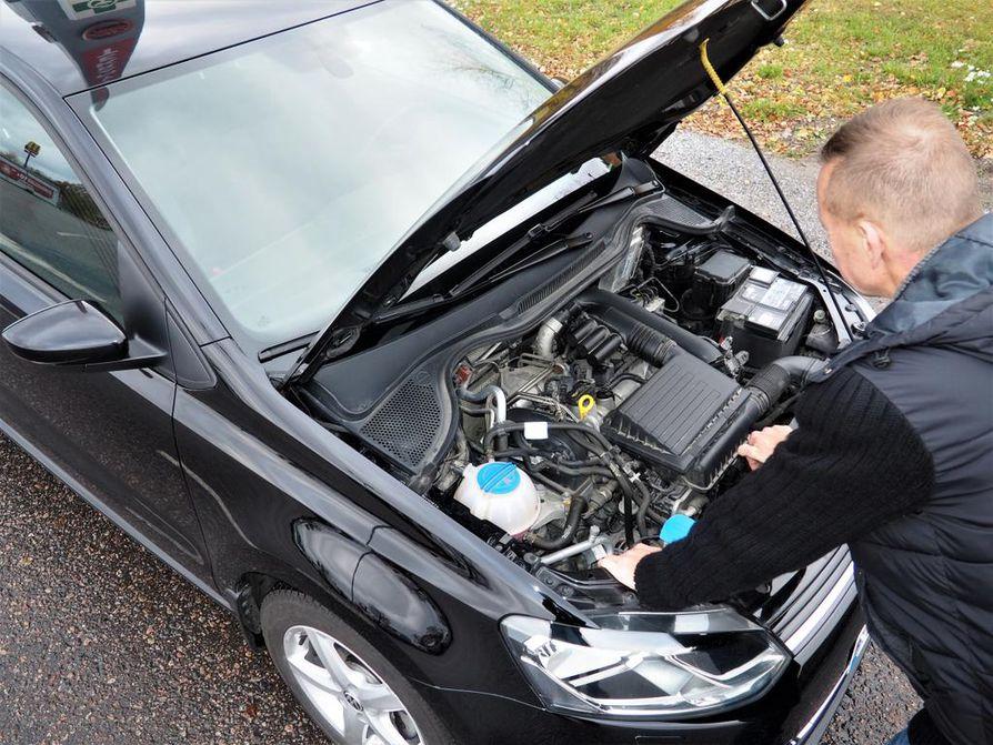 """Moottorin optimointi kohensi Hannun auton suorituskykyä, mutta hän ei aio ulosmitata lisätehoa ja muuttaa omaa ajotapaansa repivämmäksi. """"Halusin testata, kuinka auto muuttuu."""""""