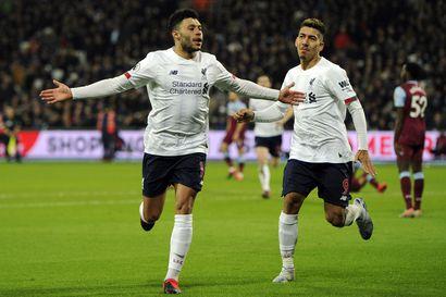 Liverpool ei hyydy – plakkarissa 41 voittoa putkeen, liigajohto venyi jo 19 pisteeseen