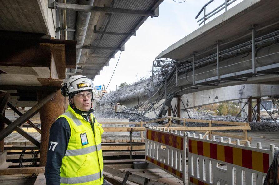 Kreaten työpäällikön Ville Tiiron mukaan siltaremontissa hyvä suunnittelu on kaiken lähtökohta.