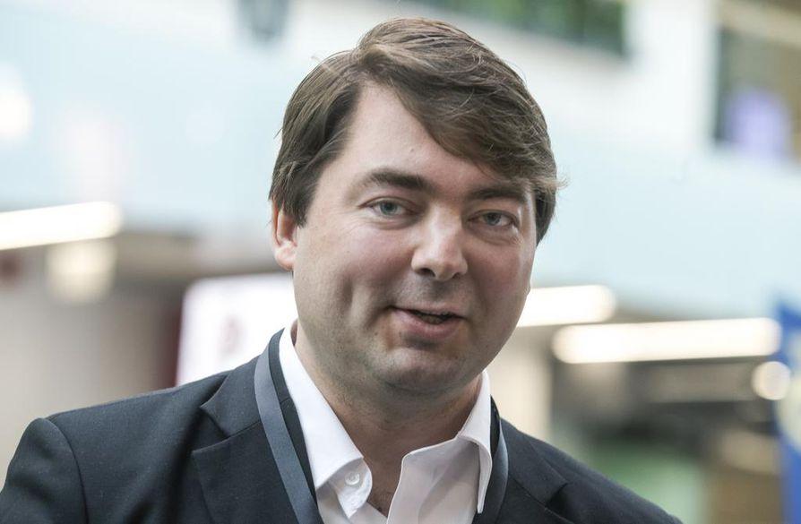 Ville Vähämäki on perussuomalaisten oululainen kansanedustaja.
