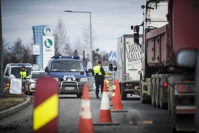 Yle: Valtakunnan rajan ylittäjien määrä tuplaantui Torniossa