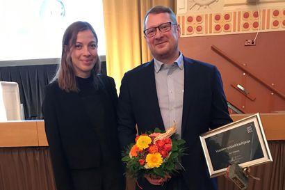 Opetusministeri luovutti vuoden työpaikkaohjaajan palkinnon Meri-Lappiin