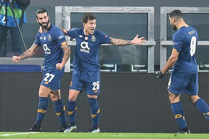 Juventukselle karmea päätös jännitysillalle – Porto puolivälieriin hurjan taiston jälkeen