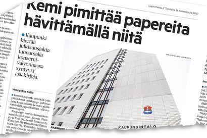 """Myös Tornio hävittää tytäryhtiöiden asiakirjoja – Arkistosihteeri: """"Kannatan julkisuuslain laajentamista"""""""