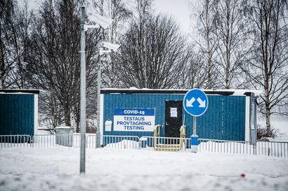 Norrbottenin tartuntamäärät hivenen laskussa – Haaparannalla vierailukielto hoitoyksiköihin