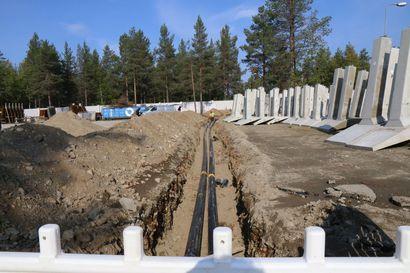Vainajan luita löytyi rakennustyömaalta Sodankylässä