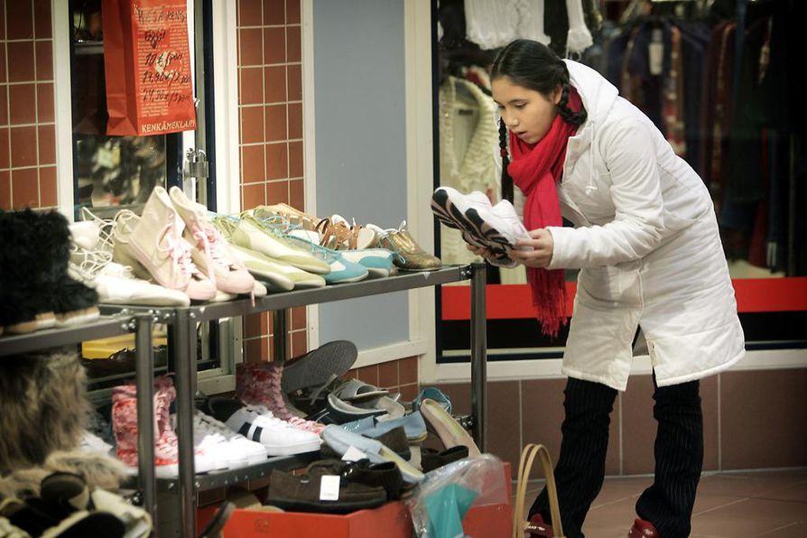 Kaikille naisille shoppailu ei tuota iloa.