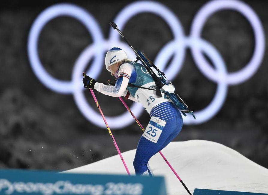 Kaisa Mäkäräisen suoritus ja muut tiistaina olympialaisten ohjelmassa olleet hiihtokilpailut kiinnostivat suomalaisia niin paljon, että useiden kuntien verkkopalvelimet ruuhkautuivat.