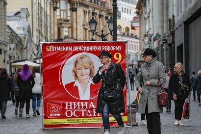 Venäläisille on tarjolla äänestys, joista nykyisen vallan vaihtoehdot on siivottu pois