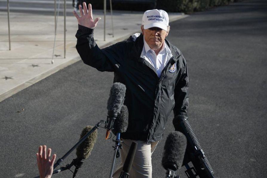 Yhdysvaltain presidentti Donald Trump on valmis julistamaan kansallisen hätätilan saadakseen rahoituksen muurilleen.