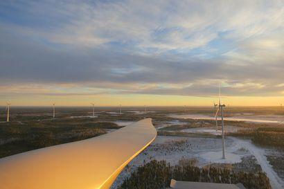 Suunnitteilla 40-60 Suomen korkeinta tuulivoimalaa Pudasjärvelle – kaupungille tarjolla miljoonan euron kiinteistöveropotti