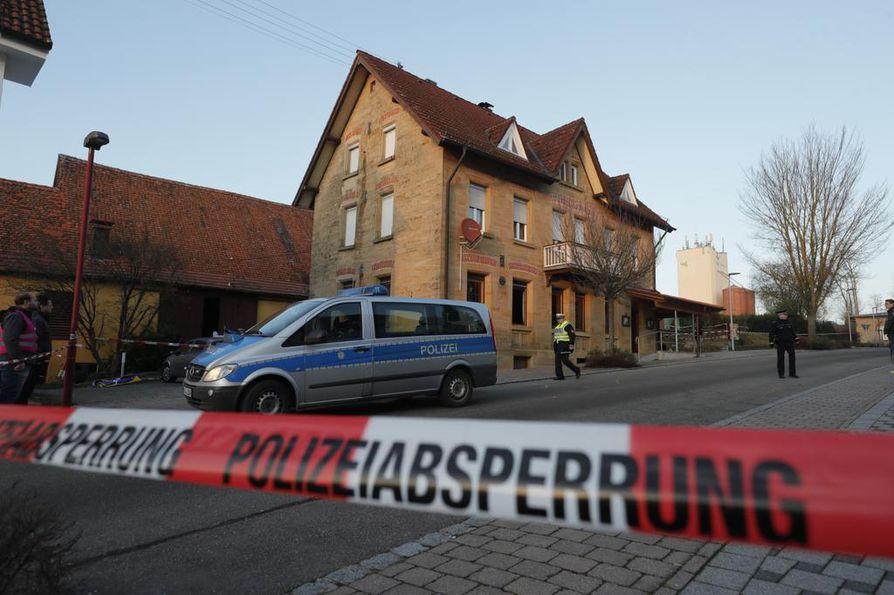 Ampuminen tapahtui lähellä Rot am Seen pikkukaupungin rautatieasemaa.