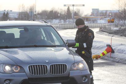 Liikenne pysynyt vähäisenä Lapin rajavartioston valvomalla alueella