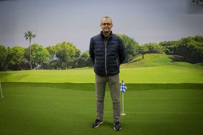 Golf on kesälaji, mutta se kiehtoo myös keskellä talvea