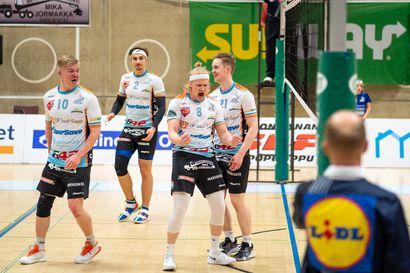 PerPo kotimaistuu kovaa vauhtia - Savonlinnan East Volleyn kaksikko siirtyy Rovaniemelle
