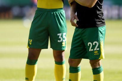 Norwich-luotsi Farke penkitti Pukin ensi kertaa, mutta turhaan