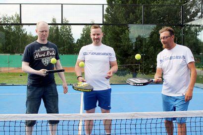 Rovaniemen Verkkopalloseura otti padelin siipiensä suojaan – Antinpuistoon valmistui kaksi uutta kenttää