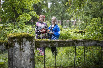 Japanilaisessa teekulttuurissa yhdistyy teen lisäksi rauha, läheisyys ja toisten kunnioitus – Teekulttuuriin pääsee tutustumaan viikon ajan Dammisaaren rapumajalla Oulussa