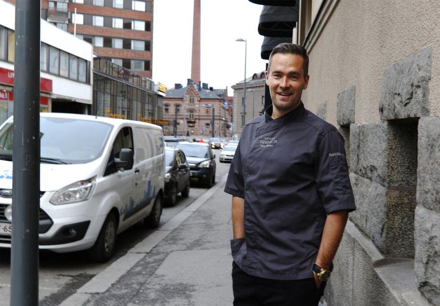 Tampere on kehittynyt ruokakaupunkina huimasti kymmenessä vuodessa. Arto Rastas toivoo uuden Ratinaan sijoittuvan rooftop-maisemaravintolakonseptinsa kiinnostavan koko Suomessa.