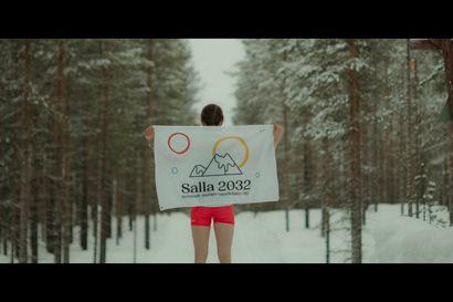 Kesäkisat Sallaan 2032 –itärajan kunta lanseerasi kansainvälisen kampanjan ilmastonmuutosta vastaan, katso näyttävän kampanjan video