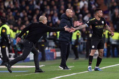 Manchester City järkytti Realin Madridissa nousemalla ohi