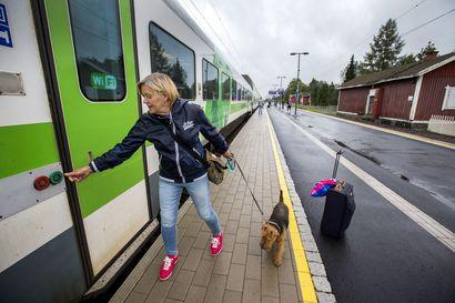 Tampere–Oulu-ratahankkeen suunnittelu alkoi –Kokkola–Oulu-rataosan kapasiteetti loppuun käytetty
