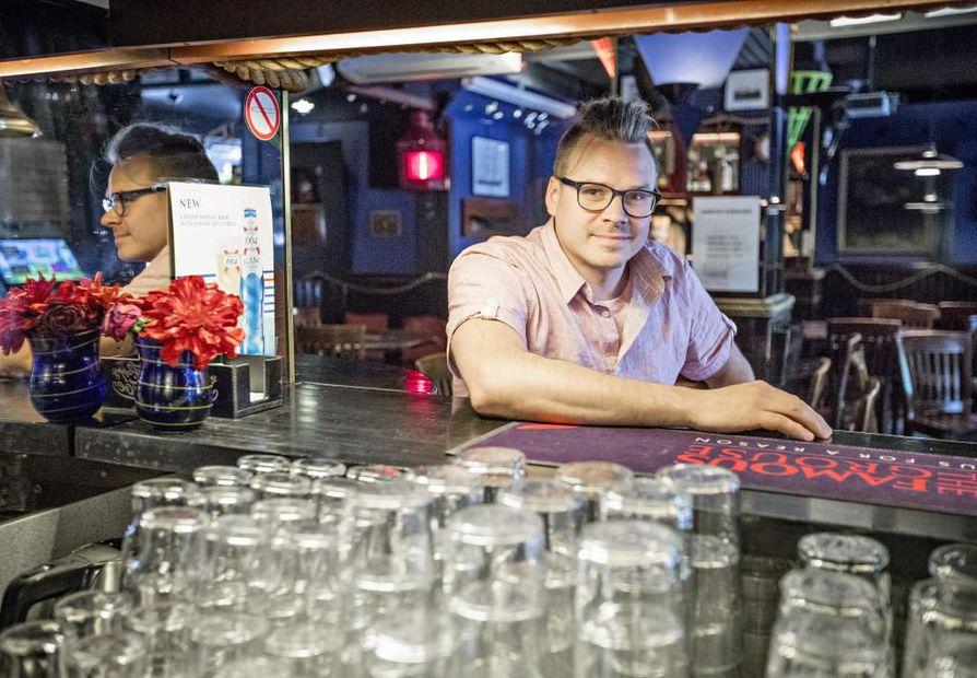 Sarkan uusi ravintoloitsija on Markku Vaaramo.