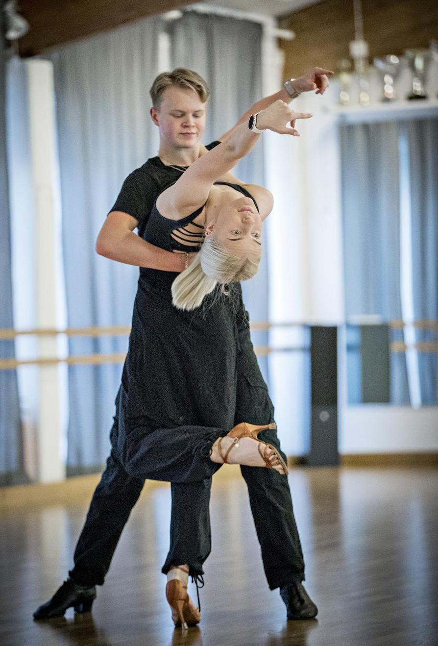 Eetu Lämsän ja Emilia Prykärin Oulussa on erinomaiset treenimahdollisuudet.