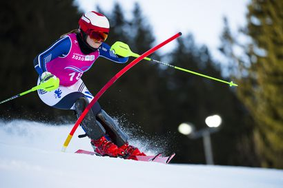 Pohjolainen ja Tapanainen nousivat pujottelussa nuorten olympialaisissa