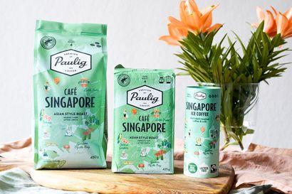 Uutuus Paulig Café Singapore vie sinut Green Cityn tunnelmaan