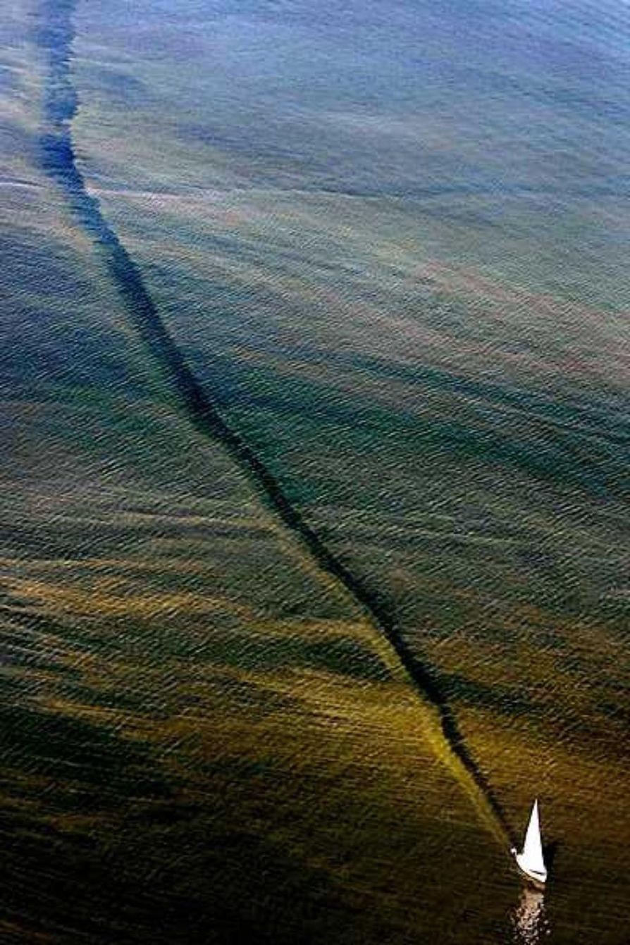 Valokuvaaja Hannes Heikuran kuva oli tuomariston mukaan pelottava ja kaunis.