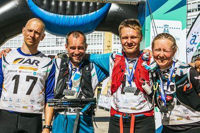 Kaksi rovaniemeläistä urakoi Suomen kvartetissa 12:nneksi seikkailu-urheilun MM-kisoissa
