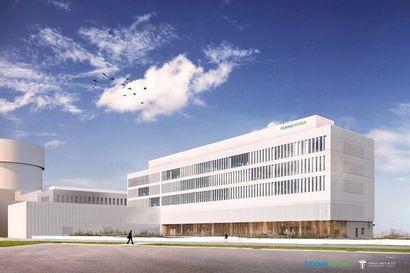 Fennovoiman hallintorakennuksen rakentaminen alkaa Pyhäjoella – työn tarkoitus valmistua vuoden 2022 alussa
