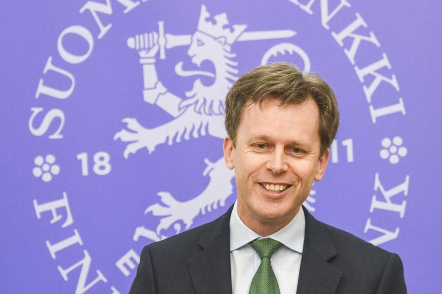 Kansainvälisen valuuttarahaston valtuuskunnan johtaja Alasdair Scott kävi Helsingissä marraskuussa keräämässä aineistoa nyt julkistettuun maaraporttiin.