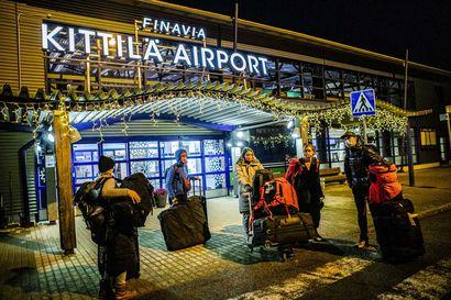 Kittilän lentokenttätestaus sai kiitosta sujuvuudesta – Levin maailmancupin turvatoimien ensimmäinen koetus hoidettiin mallikkaasti