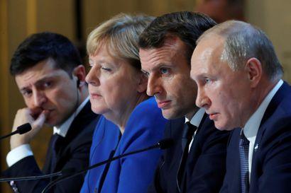 Putin ja Zelenskyi tapasivat ensimmäistä kertaa kasvotusten – sopivat vankien vaihdosta