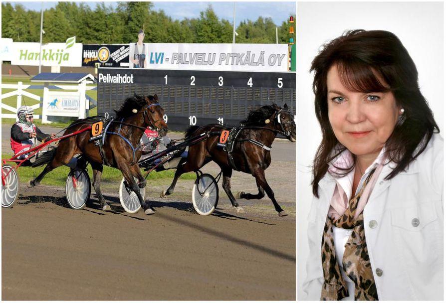Sirkka Huopana aloittaa Oulun raviradan toiminnanjohtajana lokakuun puolivälissä.