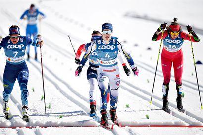"""""""Oli ehdottomasti tämän kauden ja ehkä koko uran paras kulku"""", riemuitsi Katri Lylynperä MM-sprintin kahdeksatta sijaa"""