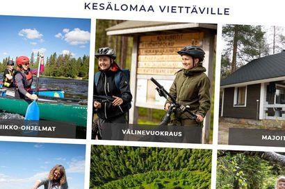 Taivalkosken uudet matkailusivut tarjoavat verkkokaupan ja infopaketin yhdellä kertaa – yrittäjät ja matkailuyhdistys uskovat vahvasti tähän kesään