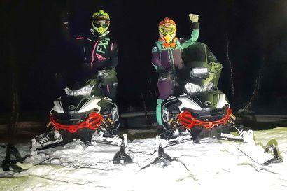 Kylmä tulikoe Kanadassa: Kaksi lappilaisnaista matkustaa 4800 kilometrin päähän ja ajaa siellä kelkalla kilpaa yli 3000 kilometrin matkan