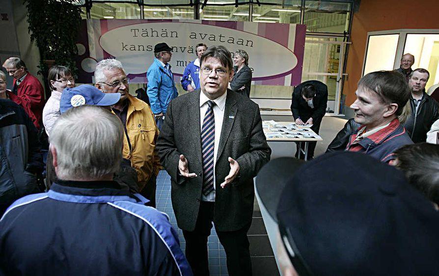Perussuomalaisten kannatus on gallupin mukaan Oulun vaalipiirissä noussut 17,8 prosenttiin.