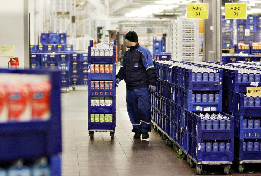 Kuva Valion Oulun tehtaalta.